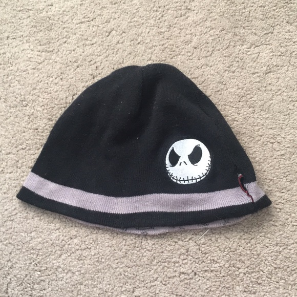 fbc8657ff0db Disney Accessories | Jack Skellington Beanie | Poshmark
